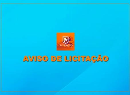 PREGÃO ELETRÔNICO N° 026/2020 – PE                       AVISO DE EDITAL