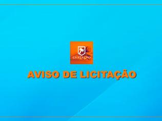 AVISO DE LICITAÇÃO (2ª CHAMADA) PE SRP025/2020