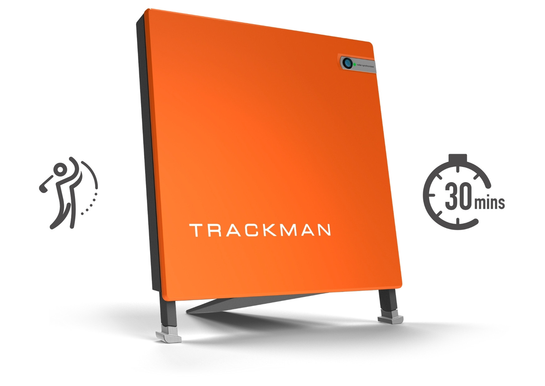 30 minutes Trackman Hire - 1 Player
