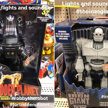 Robby and The Iron Giant are back!