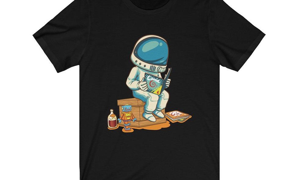 Space Kid Mascot T-Shirt