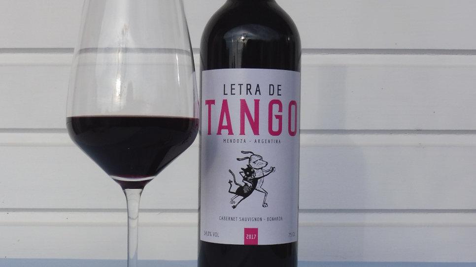 Letra de Tango - tinto