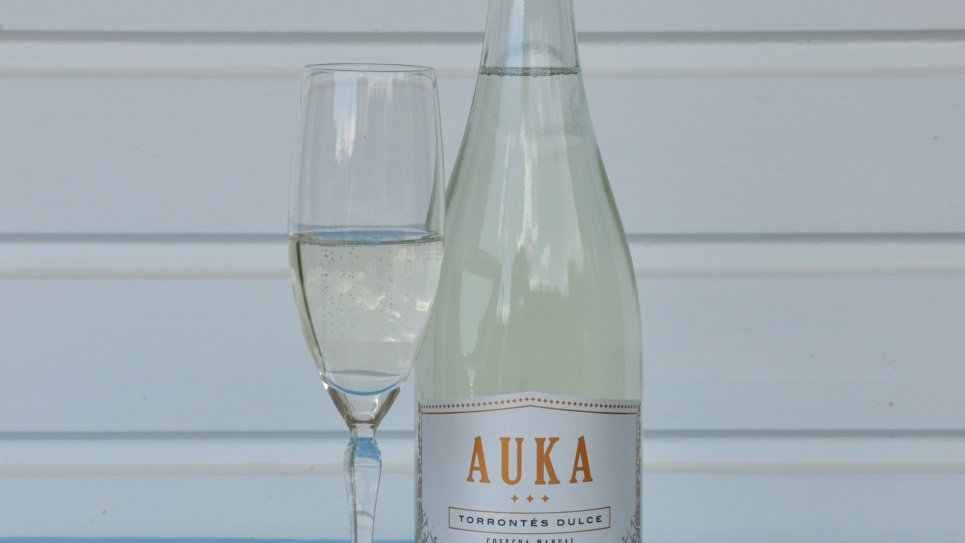 AUKA Torrontés Dulce Sparkling Wine Blanco