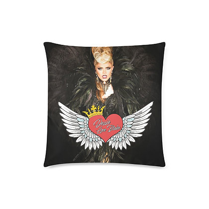 "Dessie Heart of Rock N' Roll 16"" Pillow"