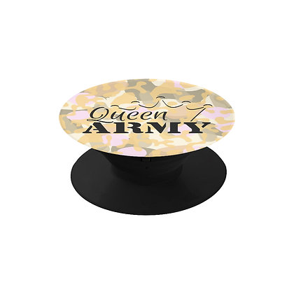Queen Army Phone Grip