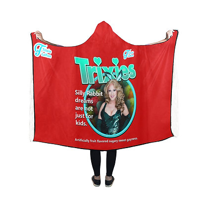 Trixies Hooded Blanket
