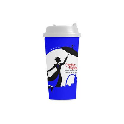"Janessa ""Poppin Fun"" Tumbler Travel Mug"