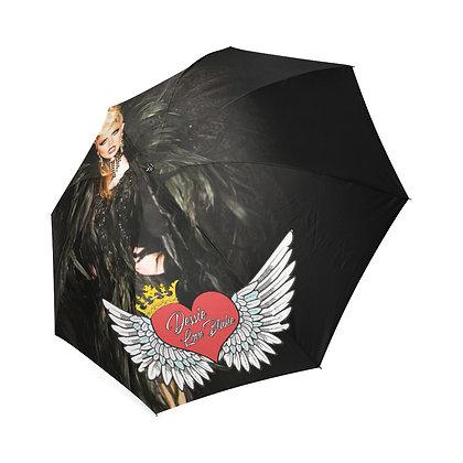 Dessie Heart of Rock N' Roll Umbrella