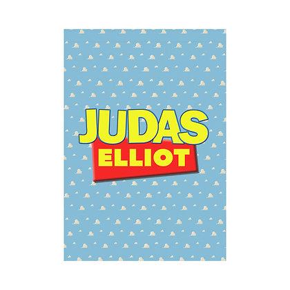 """Judas """"Toy Story"""" Large Flag"""