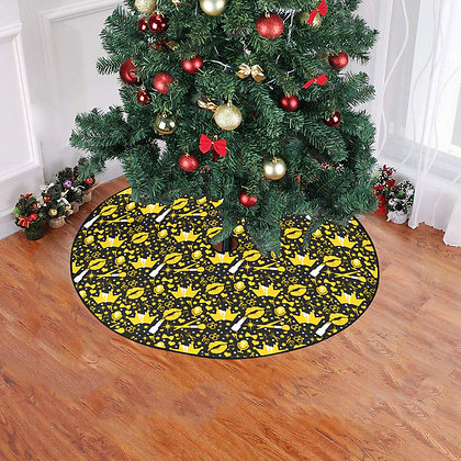 """Confetti"" Holiday Tree Skirt"