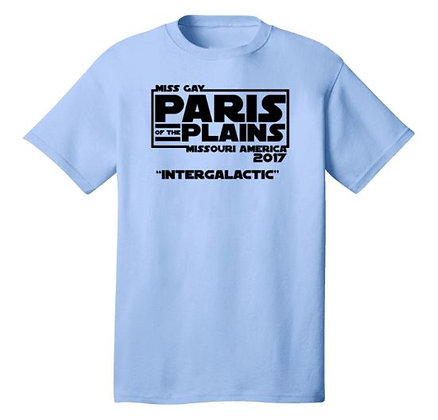 "Paris of the Plains '17 ""Intergalactic"" Cotton Tee"