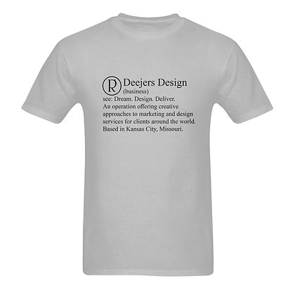 "copy of Deejers Design 2018 ""Definition"" Mens Tee"