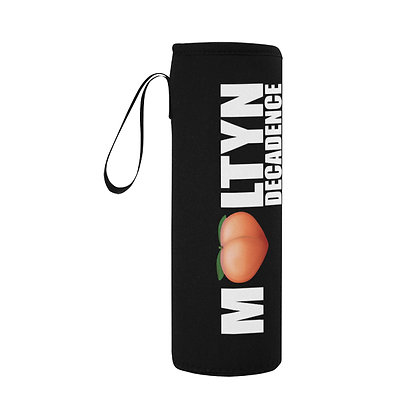 """Moltyn Decadence """"Just Peachy"""" Water Bottle Holder"""