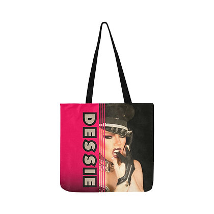 Dessie Pink & Black Reusable Bag