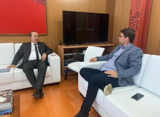 Projeto de Jorginho Mello servirá de modelo para secretário de cultura Mário Frias
