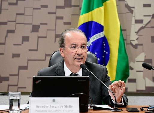 Vídeo: Jorginho Mello comenta caso do senador Chico Rodrigues