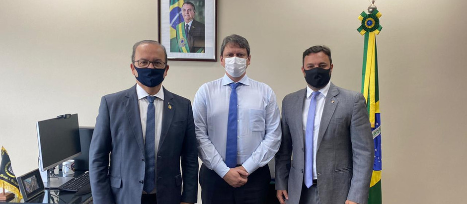 Fórum Parlamentar Catarinense terá audiência com Ministro Tarcísio sobre Aeroporto de Navegantes