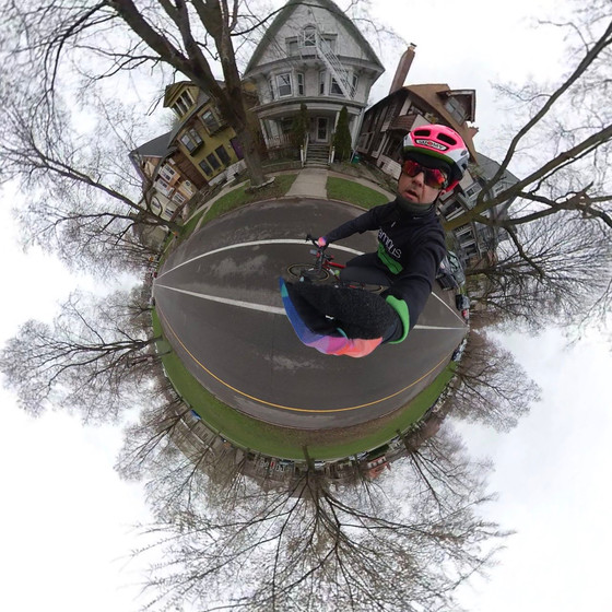 Riding the Parkways with the Insta360 One X