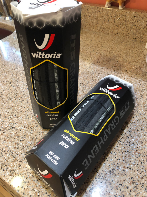 Review: Vittoria Rubino Pro G+ 25mm Tires