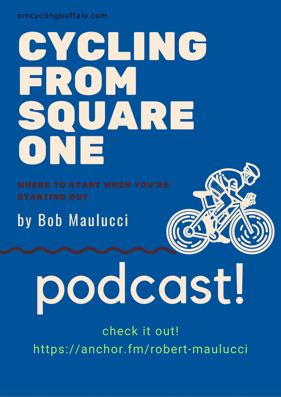 The Cycling from Square One Podcast is Here!