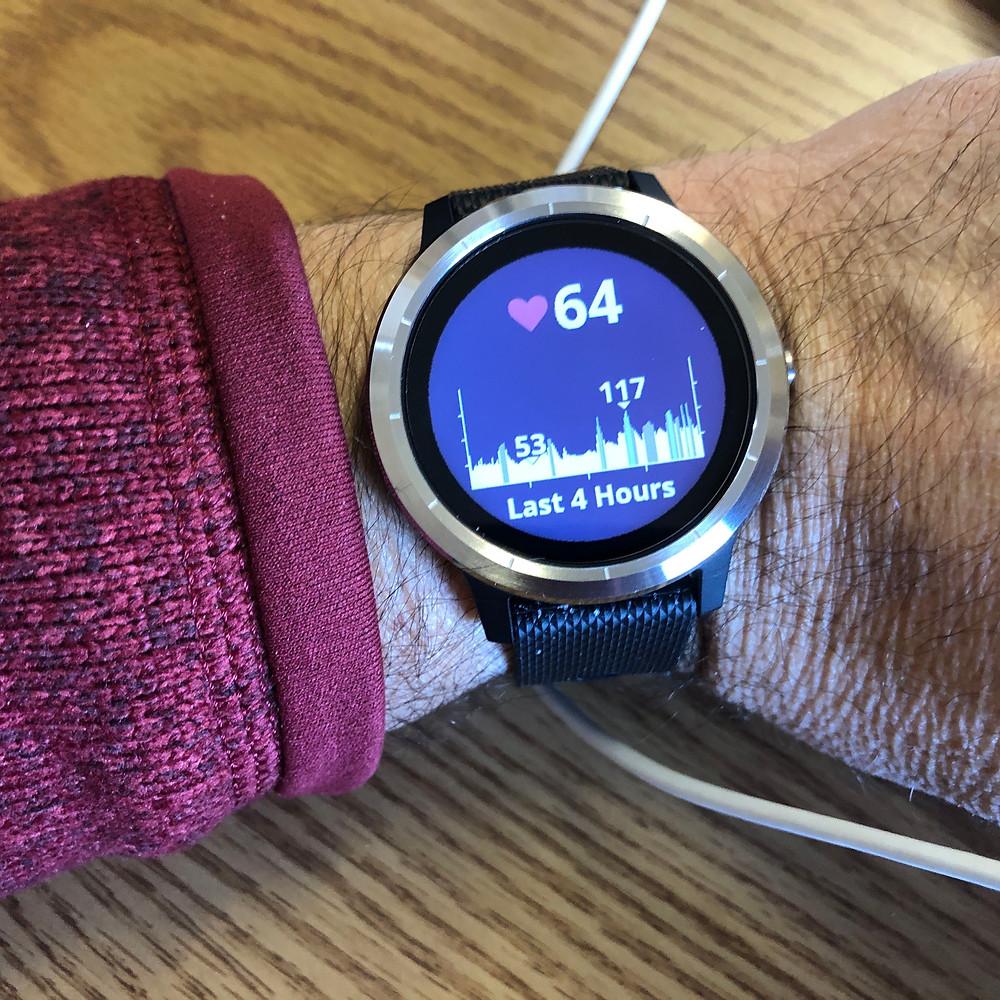 Heart rate screen