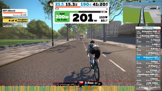 """Why Zwift? Part 3, """"On the Road inWatopia"""""""