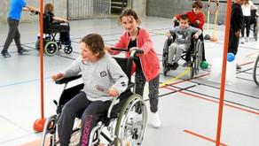 Handicap. Du sport pour les écoliers