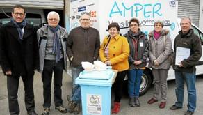 Bouchons du pays de Lorient. Partenariat avec l'association Amper © Le Télégramme