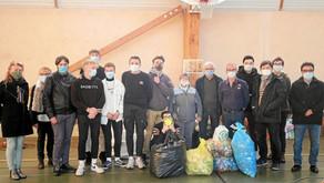 192 kg de bouchons récoltés pour une association par les lycéens de Priziac
