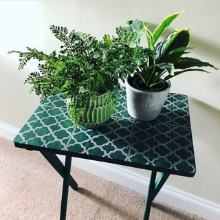 TV table makeover