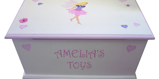 Personalised fairy toy box