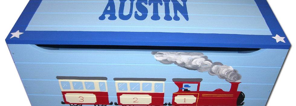 Train toy box