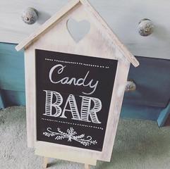 Candy Bar chalk board