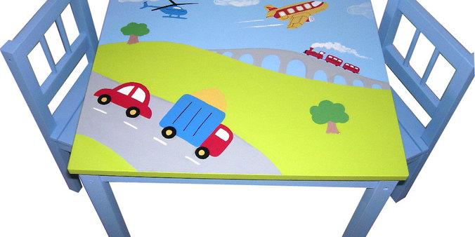 Transport children's table