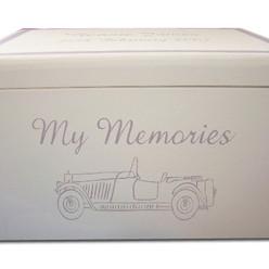 Classic car keepsake box