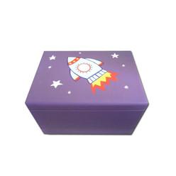Rocket design keepsake box