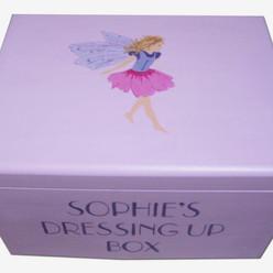 Fairy dressing up up box