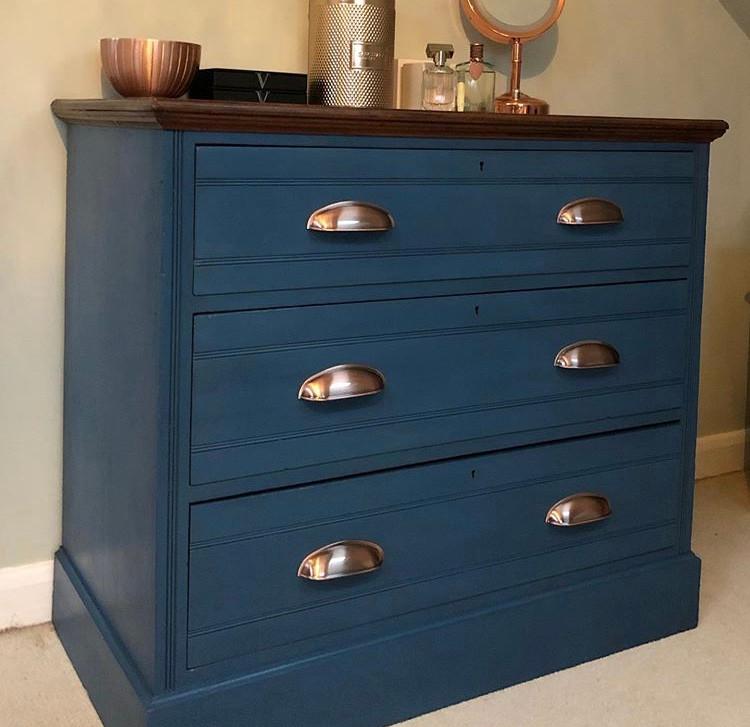 Upcycled Edwardian chest of drawers.jpeg