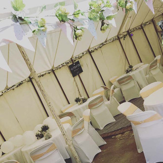 Traditional Marquee decoration