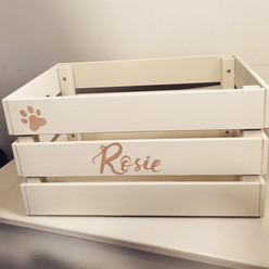 Pet toy crate