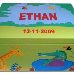 Jungle keepsake box