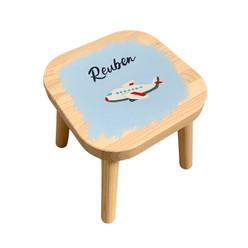 Personalised kids stool