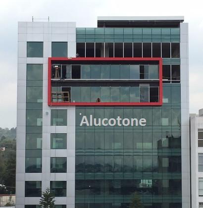 Panel Aluminio Compuesto con Fachada Integral