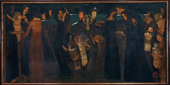 """""""La Benedizione dei morti del mare"""", 1914-1916"""