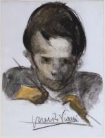 Lorenzo Viani, Scolaro che scrive, 1920-1921