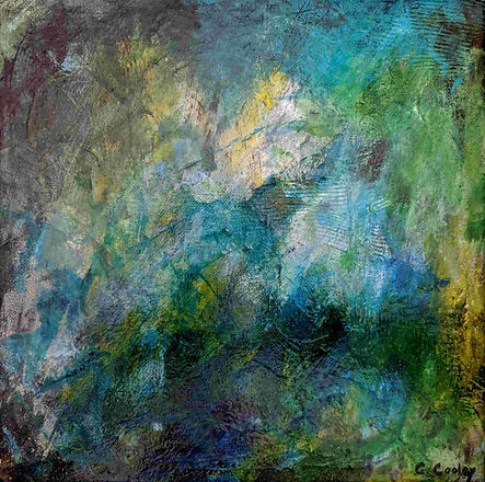 Vitality abstract painting