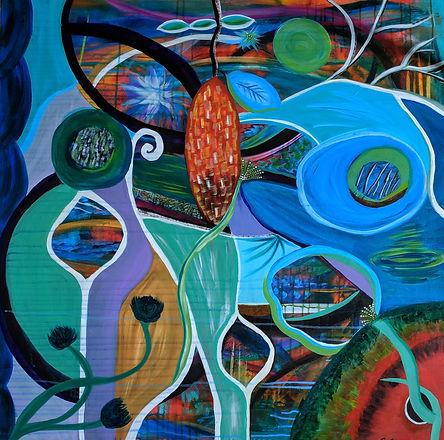 Renewal abstract painting