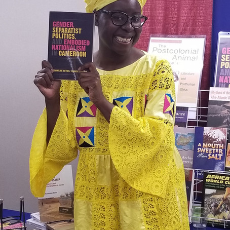 Dr.  Jacqueline-Bethel Tchouta Mougoué 2021 Winner of the Aidoo-Snyder Prize