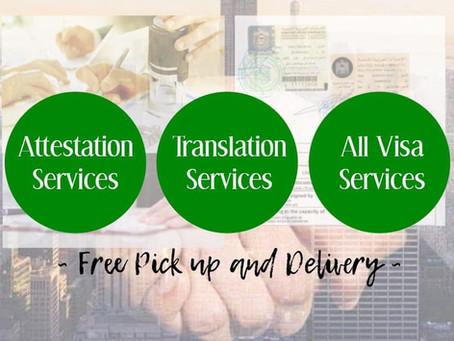 ATTESTATION, TRANSLATION and ALL VISA SERVICES