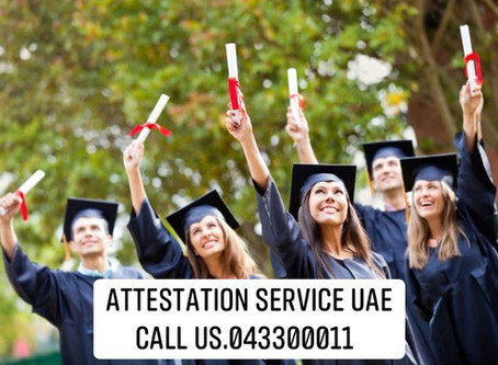 DOCUMENT ATTESTATION UAE